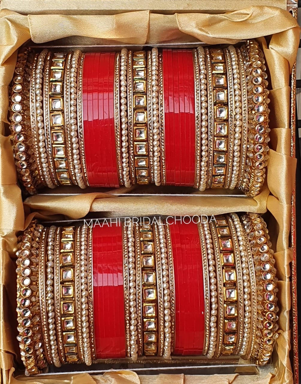 Maahi Exclusive Kundan Chura - 055