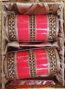 Maahi Exclusive Kundan Chura - 037