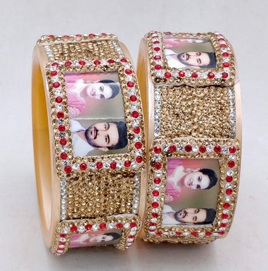 Maahi's Exclusive Personalized Bangles Set - 012 - Bridalchooda