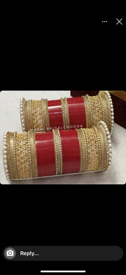 Maahi's Exclusive American Diamond Chura