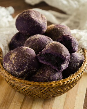 Ube Overload Pandesal (Pack of 6 or 12)