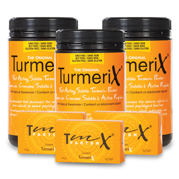 TurmeriX® Powder 360g Tub x 3 (BONUS BUNDLE) - buyturmerixca