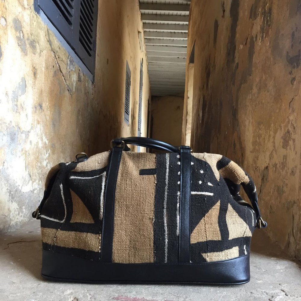 Ivory. B front: Bamako Weekender Traditional Pale