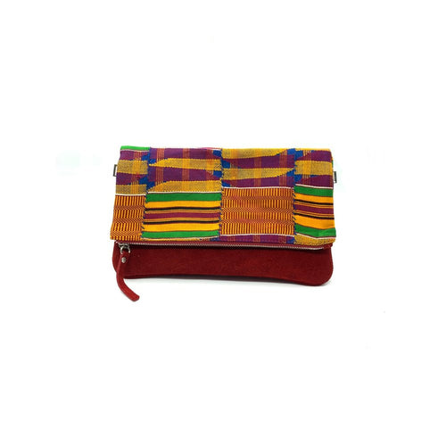 Ivory. B front: Zoblazo ZB Original Kente red