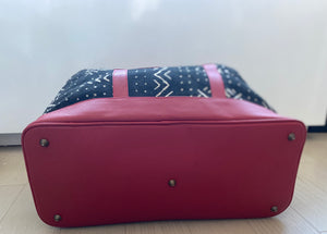 Bamako Weekender Bag Red