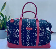 Load image into Gallery viewer, Bamako Bag Red zig