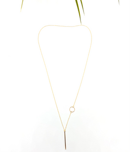 Ivory B: Golden Necklace
