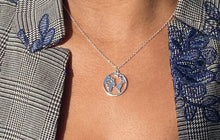 Load image into Gallery viewer, Silver World Necklace