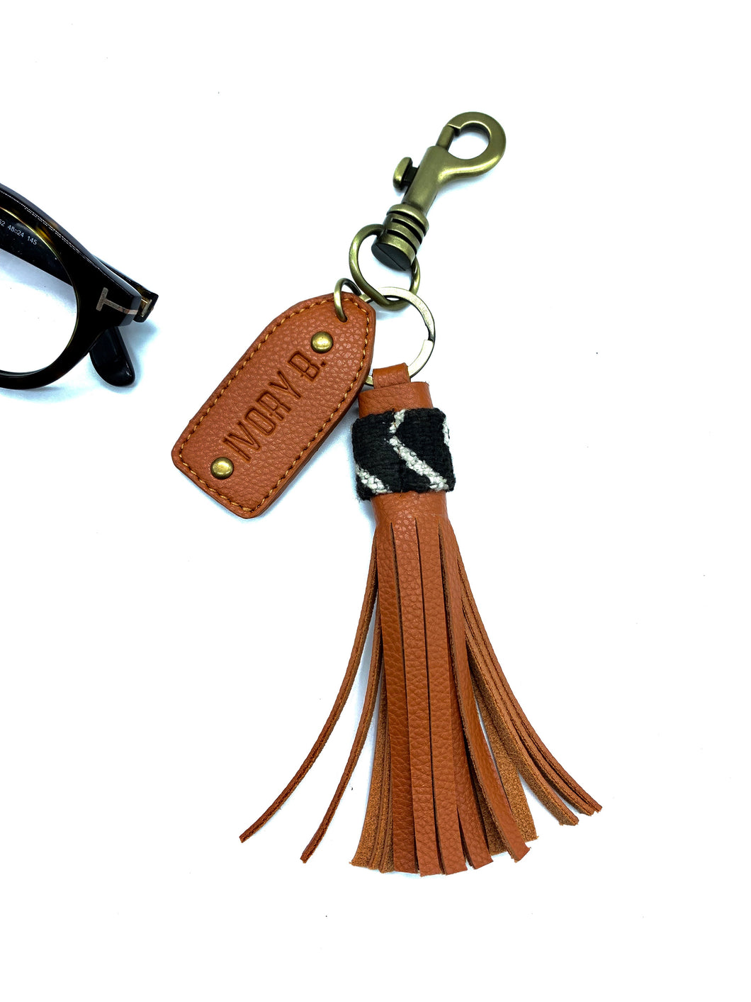 Kilé keychains long brown