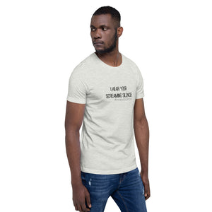 #howyoucarryit I_hear_your_screaming_silence T-Shirt