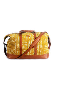 Ivory. B front: Bamako bag Moutarde