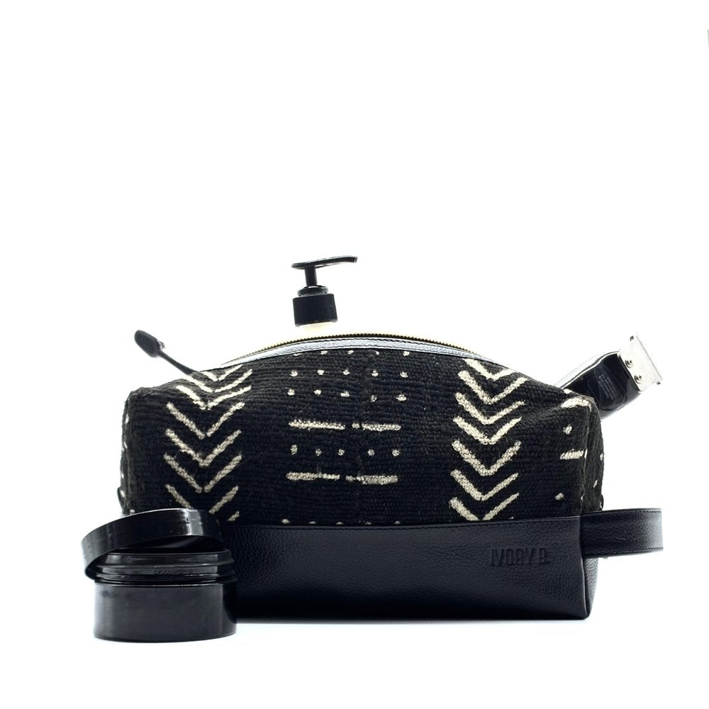 Ko G Toiletry Bag Noir Arrow
