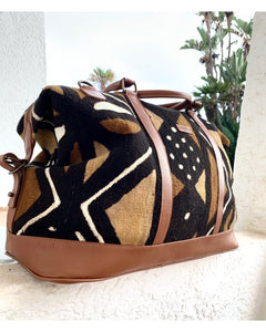 Bamako Traveler Marron Dots