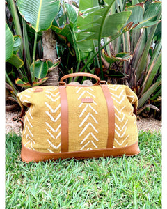 ivorybbag - Bamako Traveler Jaune Arrow - ivorybbag - PHYSICAL