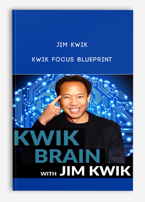 Focus Blueprint - Jim Kwik