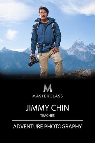 Jimmy Chin Teaches Adventure Photography