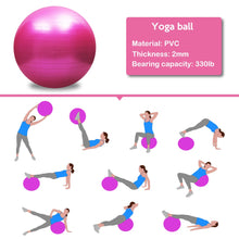 Load image into Gallery viewer, Yoga Ball + GIFT Air Pump