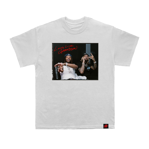 The Voice Album Tee White