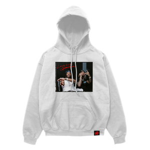 The Voice Album Hoodie White