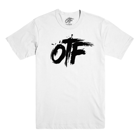 OTF Logo Tee in White