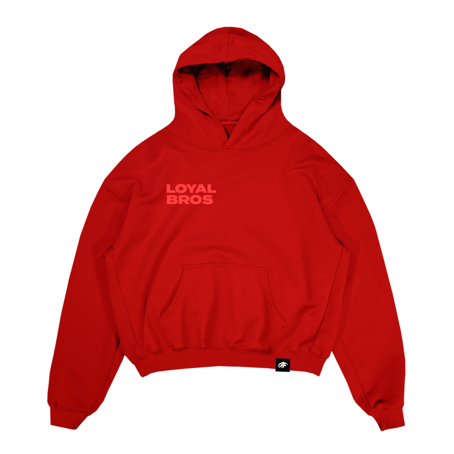Loyal Bros Hoodie Red