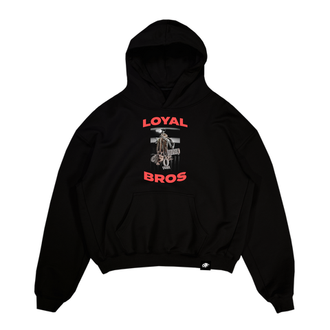 Loyal Bros Chains Hoodie Black