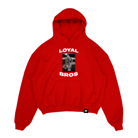 Loyal Bros Chains Hoodie Red