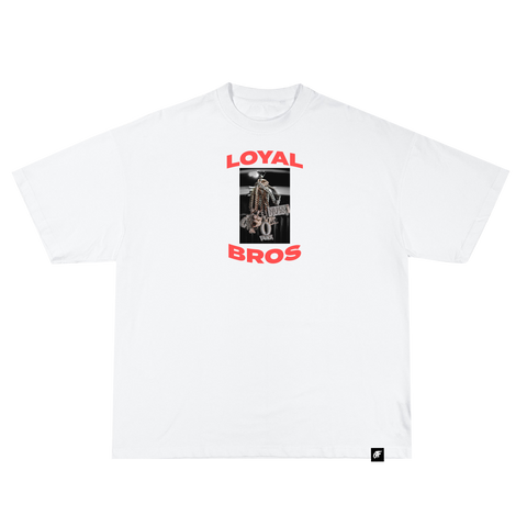 Loyal Bros Chains Tee White