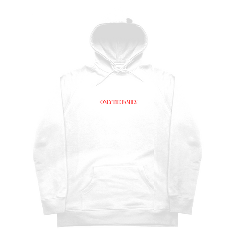 Never Go Against Hoodie White