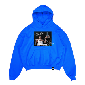 The Voice Album Hoodie Blue