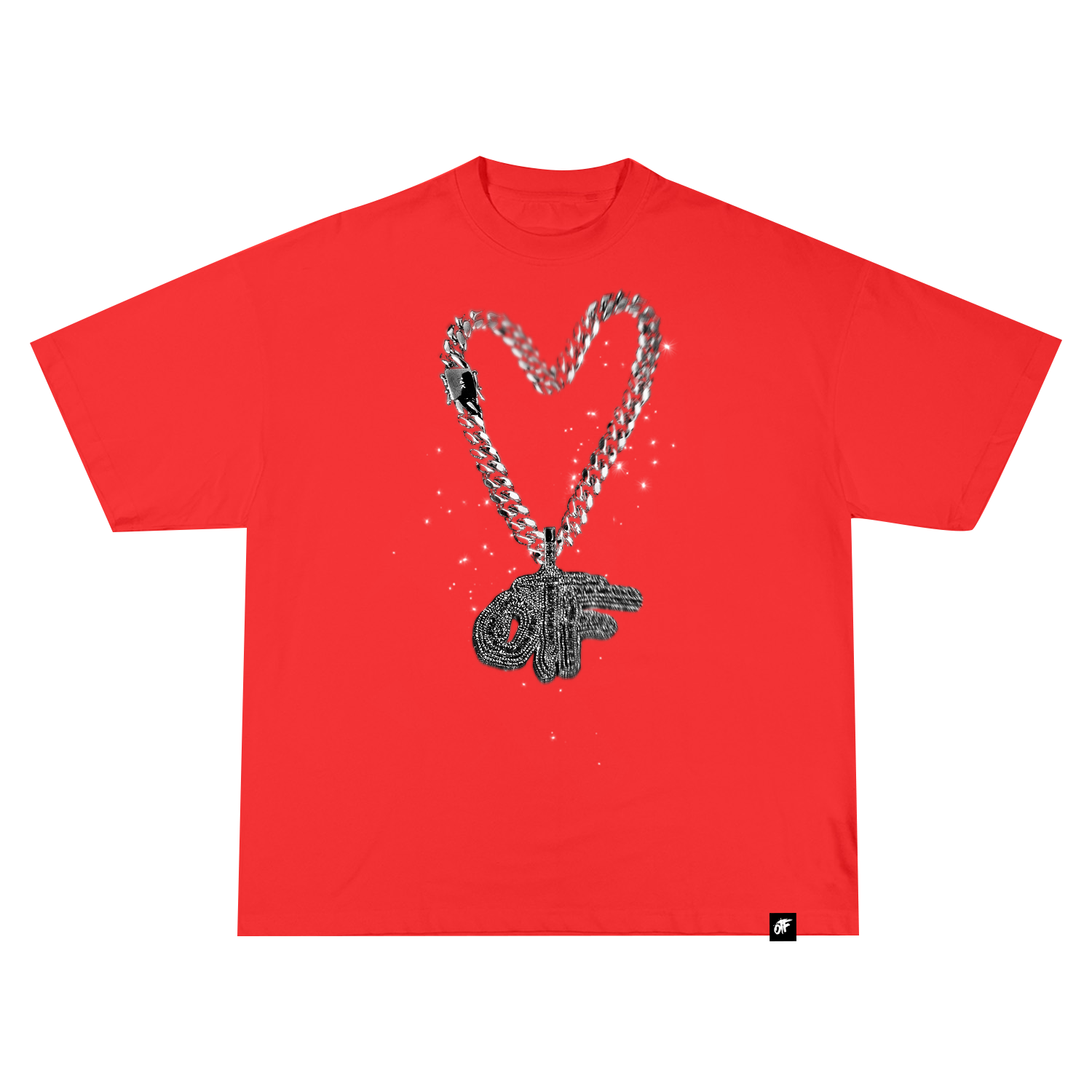 OTF Love Tee Red