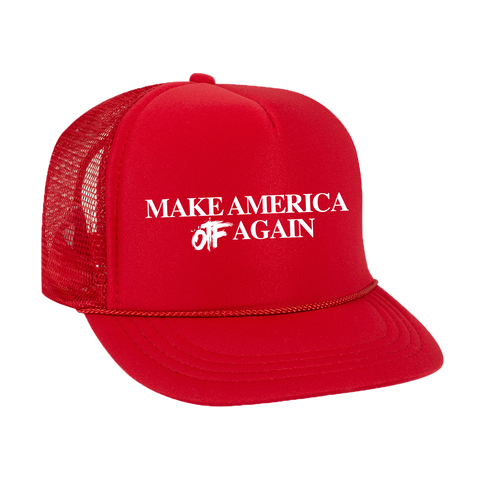 Make America OTF Again Trucker Hat Red