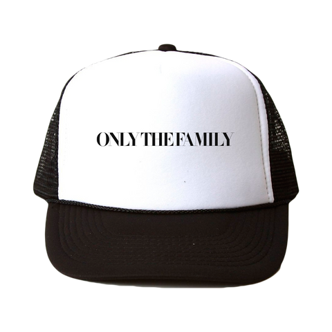 Only The Family Trucker Hat Black