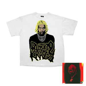 Durkio Krazy Alternate Tee + Digital Album