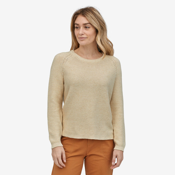 Women's Long-Sleeved Organic Cotton Spring Sweater 51450