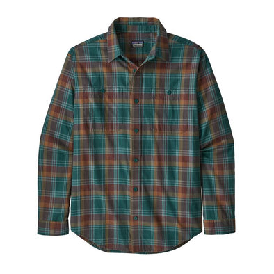 Men's Long-Sleeved Pima Cotton Shirt-53837