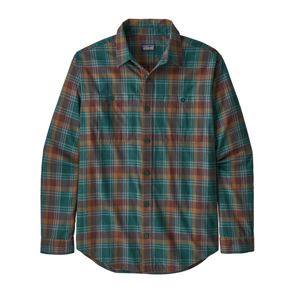 Men's Long-Sleeved Pima Cotton Shirt 53837