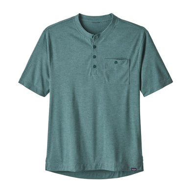 Men's Cap Cool Trail Bike Henley-24430