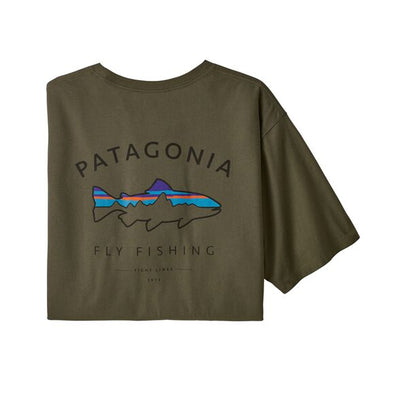 Men's Framed Fitz Roy Trout Organic T-Shirt 38529