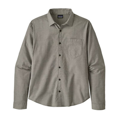 Men's Long-Sleeved Organic Cotton Slub Poplin Shirt 51760