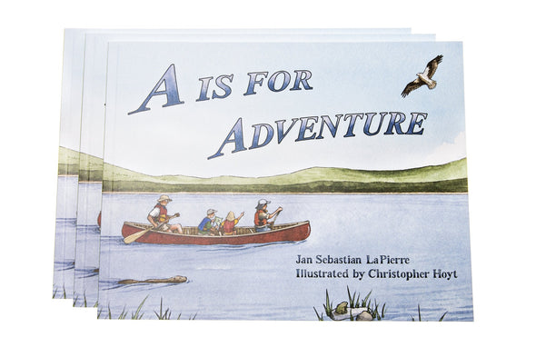 A is for Adventure - Children's Book - Soft Cover