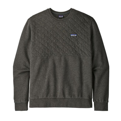 Men's Organic Cotton Quilt Crewneck Sweatshirt 25320