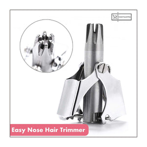 EASY NOSE HAIR TRIMMER