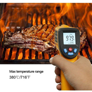 Temperature Gun eT1050D Dual Laser Infrared Thermometer -58 to 1922°F