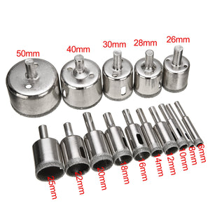 Diamond Coated Drill Bit Set