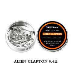 2 Boxes NI80 Nichrome High Density Alien V2 Fused Clapton