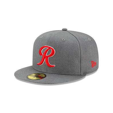 Tacoma Rainiers 59Fifty Graphite Red Flannel R Cap