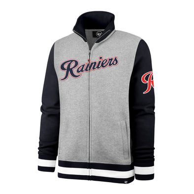 Tacoma Rainiers Gray '47 Iconic Track Jacket