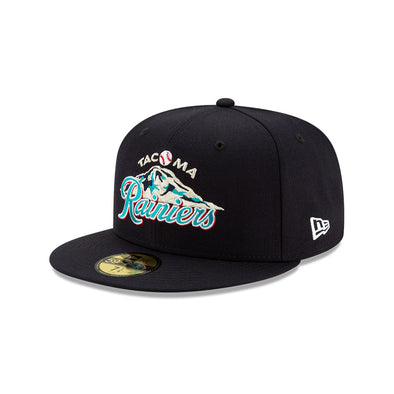 Tacoma Rainiers 59Fifty Classic Mountain Cap - Navy
