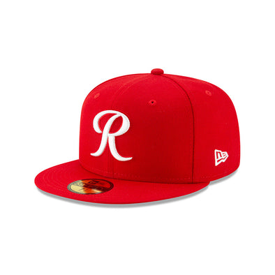 Tacoma Rainiers 59Fifty Official Red Alternate Cap